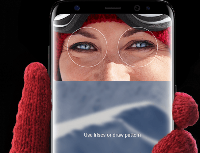 German hackers bypass Samsung's iris scanner using a contact lens