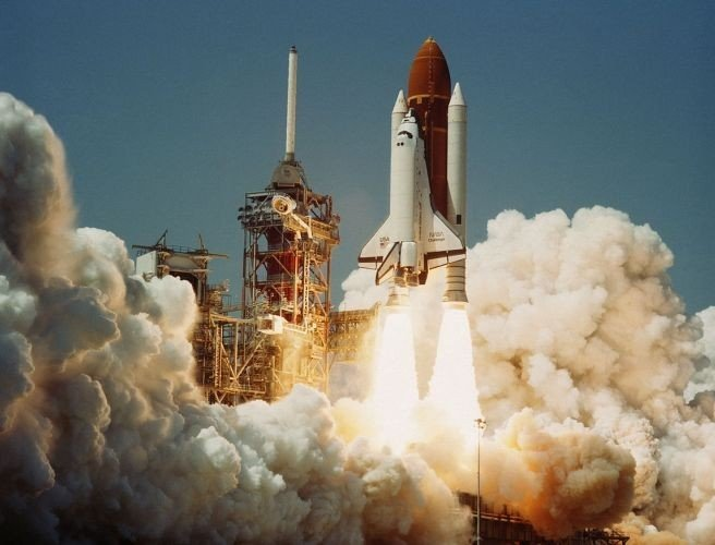 'Breakthrough - Communcations Moments That Changed the World' - the launch of the Challenger Space Shuttle