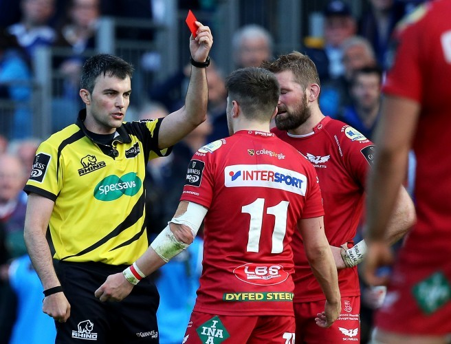 Evans red card rescinded ahead of final