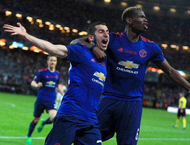 Manchester United, Henrik Mkhitaryan, Paul Pogba, Europa League, final