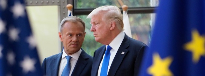 Climate, trade and Russia: Tusk airs differences with Trump