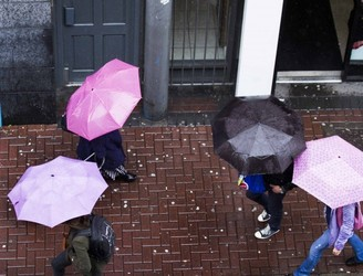 Met Éireann issues three rainfall warnings for Saturday