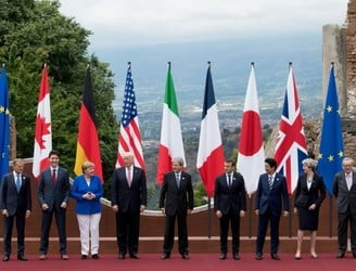 Trump refuses to commit to climate change agreement at G7 summit
