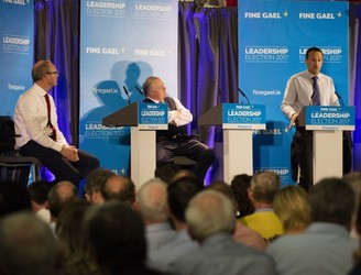 """Connacht and the West is losing a Taoiseach"": Third Fine Gael leadership debate gets underway"