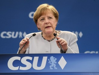 Angela Merkel: Europe 'must take fate into its own hands'