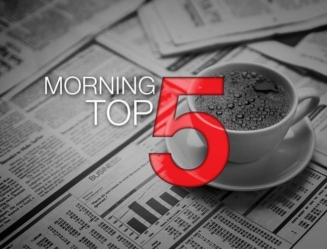 Morning top 5: Noonan under fire over AIB sale; Childline answers 400,000 calls; Three men released in Manchester