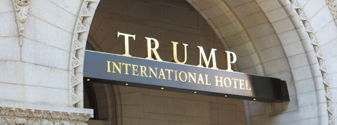 Man arrested at Trump hotel in Washington after firearms discovered