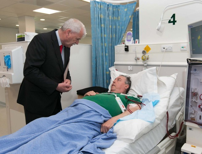 New dialysis centre opened at Beaumount Hospital