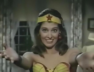 The 50-year-old 'Wonder Woman' TV pilot must be seen to be believed