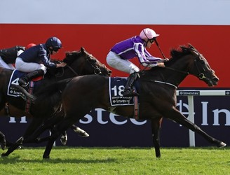 Wings of Eagles wins the Epsom Derby
