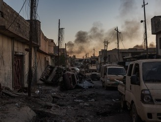Hundreds of civilians reportedly killed while attempting to flee Mosul