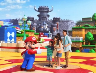 First look at Nintendo's immersive new theme park
