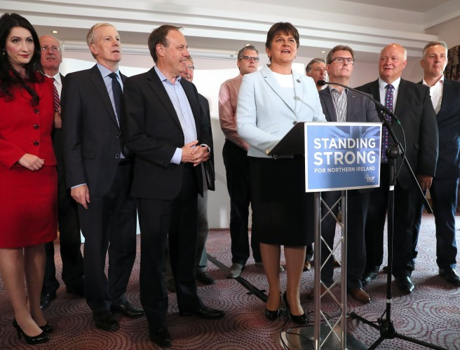 "DUP pledges ""best deal for Northern Ireland"" ahead of UK government talks"