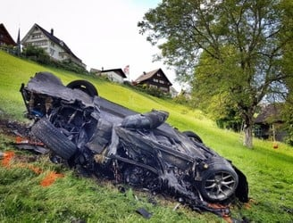 Ex-Top Gear star Richard Hammond seconds from being 'incinerated' in crash