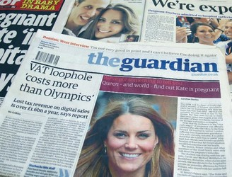 The Guardian going tabloid as print woes continue