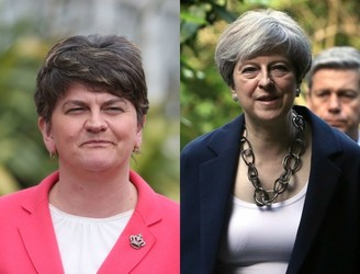 UK Conservative Party 'paid €22k' to fly DUP leader Arlene Foster home