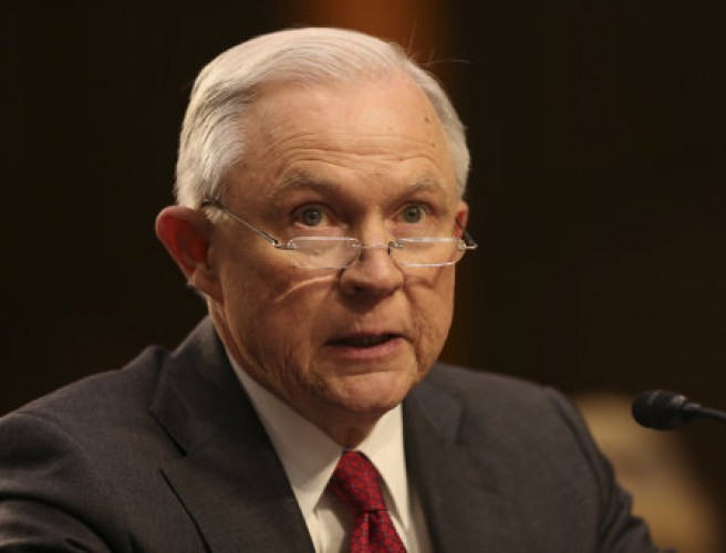 Jeff Sessions denies 'false and scurrilous Russia allegations'