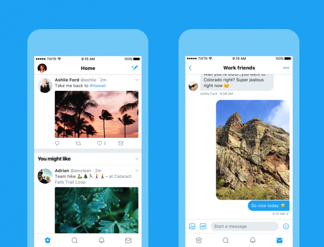 Twitter App Gets Major Redesign With Bolder Typography, Live Counts, More