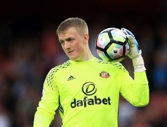 Jordan Pickford officially signs for Everton as most expensive English goalkeeper ever