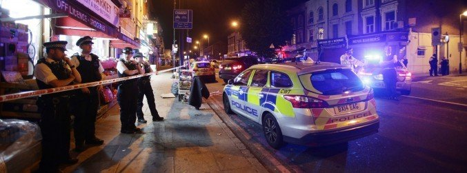 London police treating van collision as a terrorist attack
