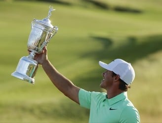 Brooks Koepka wins US Open to secure first-ever major championship