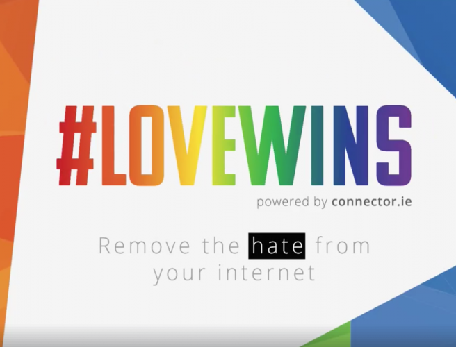 Irish company launches #LoveWins tool to combat homophobia online