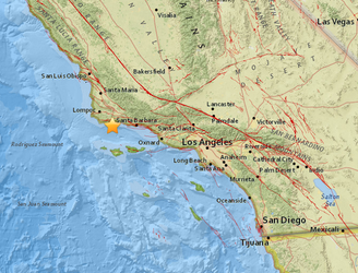 Accidental alert issued for major California earthquake from 1925