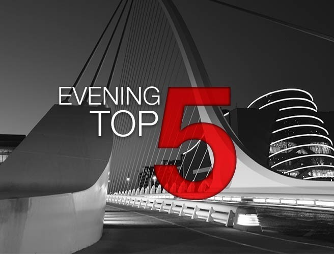 Evening top 5: Leo in Brussles; Number of high-rise blocks with combustible cladding rises