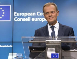Tusk says May's citizens' rights deal is 'below expectations'