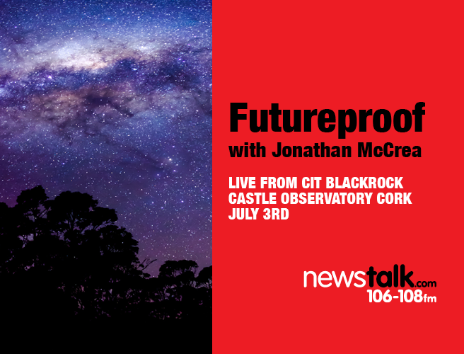 Futureproof is on the road heading to Blackrock Castle Observatory Cork for a Space Exploration Special