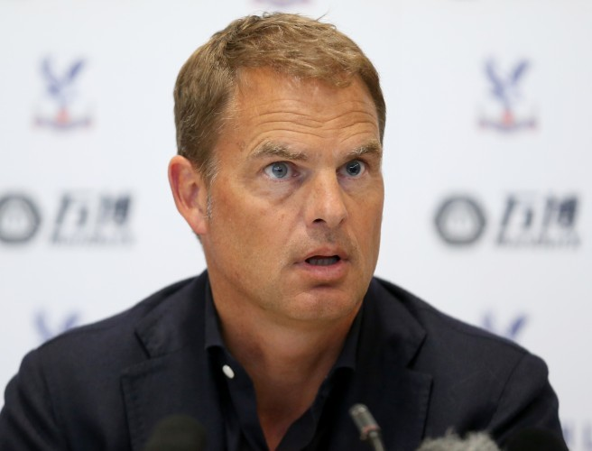 Crystal Palace appoint Frank de Boer as manager