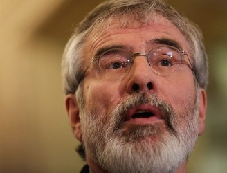 Adams not expecting Stormont deal by Monday