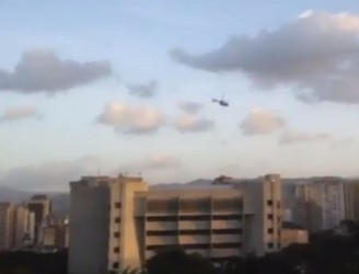 Venezuela's Supreme Court attacked with grenades from police helicopter