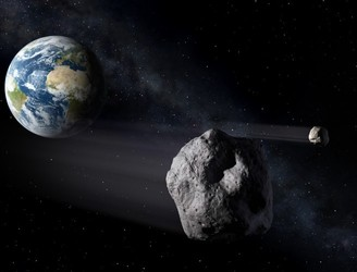 "Asteroid strike ""just a matter of time"""