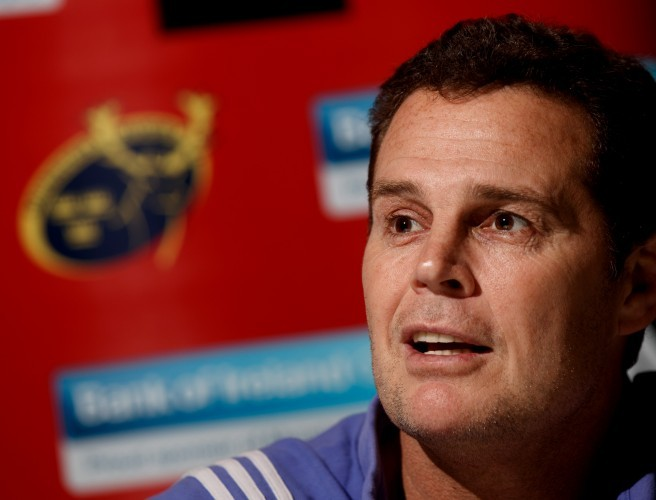 "Rassie Eramsus: ""I would have never left Munster for another club"""