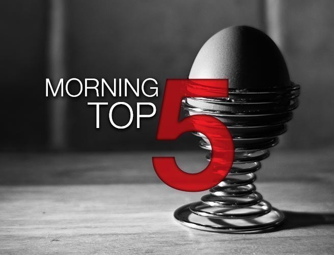 Morning top 5: Female medic dies in New York hospital shooting; Water campaigners pledge to tackle bin charges; Almost 3,000 children homeless