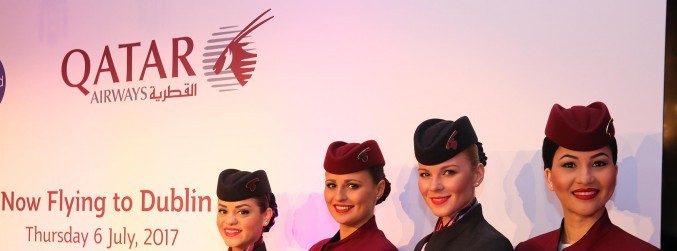 Qatar Airways launches new daily Dublin route amid embargo on Doha