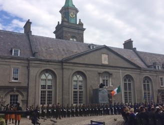 Ceremonies held to remember those who died in service to Ireland