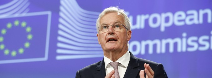 Michel Barnier reminds UK that 'clock is ticking' for Brexit