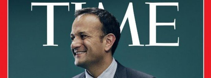 Leo Varadkar makes the cover of Time magazine