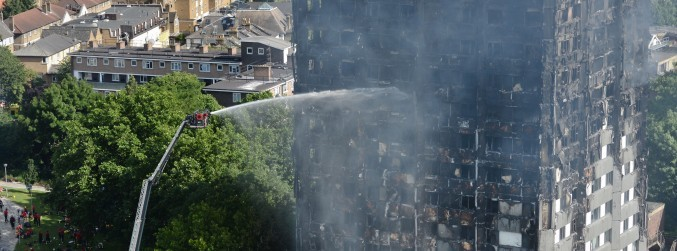 UK firefighters call for end to 'postcode lottery' after Grenfell fire