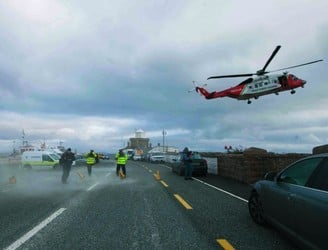 Rescue 116 searches resume off Mayo coast