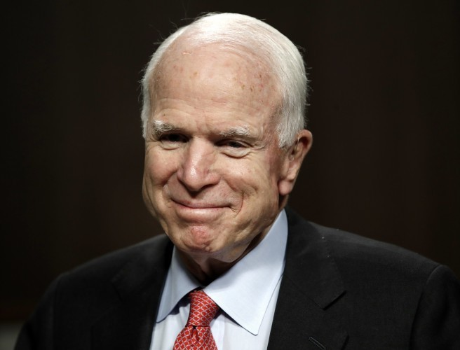 Former US presidential nominee John McCain battling brain cancer