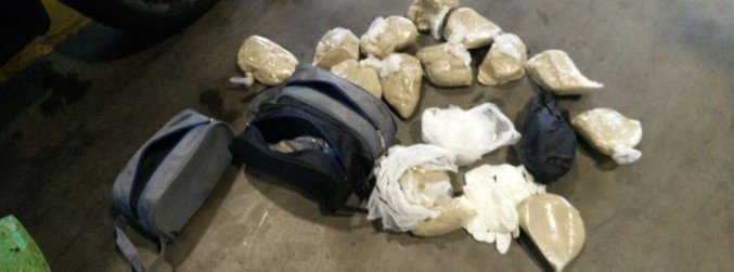 Almost €650,000 worth of drugs seized at Dublin Airport