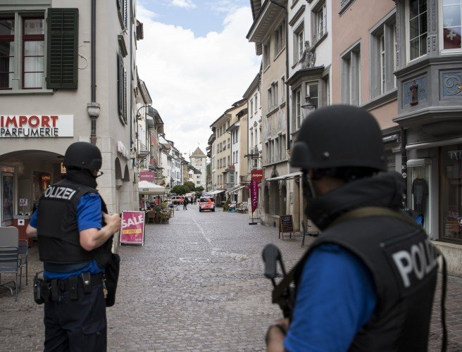 Five injured following chainsaw attack in Swiss town