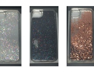 Liquid glitter iPhone cases recalled amid burn fears