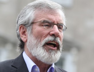Gerry Adams accuses DUP of 'disrespecting will of the people' on Brexit