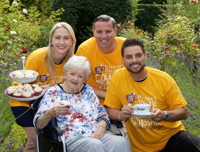 Hospices launch 25th Coffee Morning fundraising drive