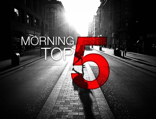 Morning top 5: Trump issues further North Korea warnings; firefighters battle Portuguese wildfires
