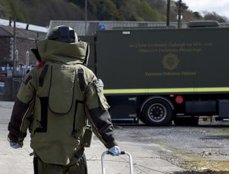 Two men arrested after viable explosive device found in Co Meath